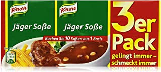 Knorr Hunter Sauce Mix (Jaeger Sosse) -Pack of 4 x 3 pack ea.