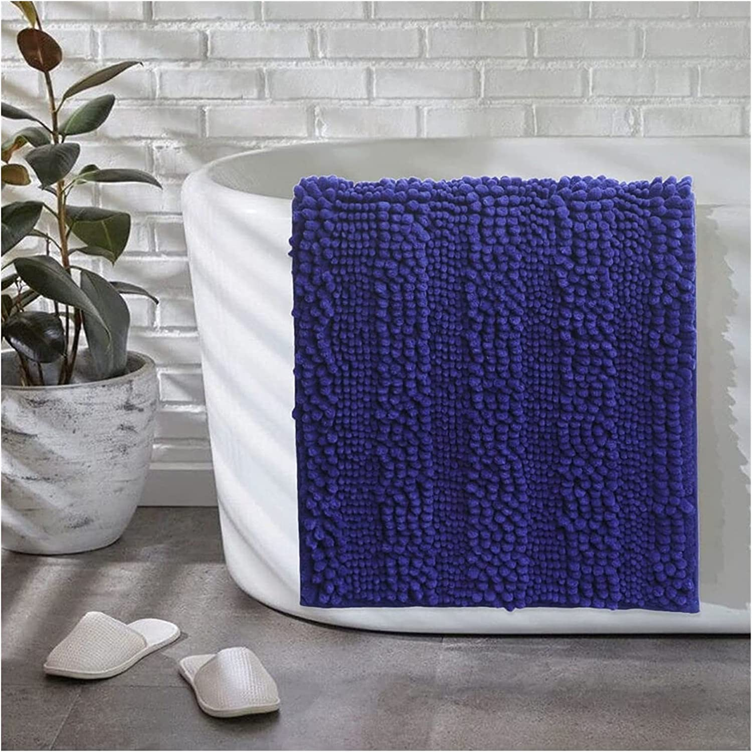 artizan Bathroom Non-Slip A surprise price is Superlatite realized Rug Thick Pad Foot Chenille Absorbent