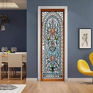 Adesivi Per Vetri Porte Interne.Amazon It Vetro Adesivi Per Porte Sticker Decorativi Casa E Cucina
