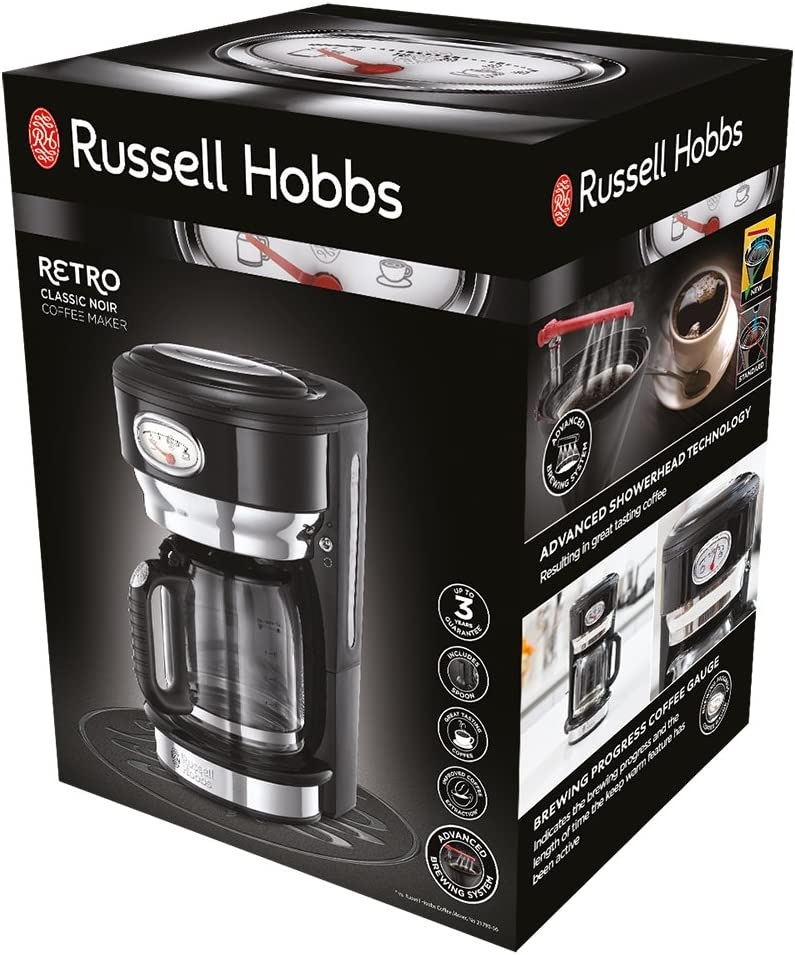 Russel Hobbs 24210 56 Cafetiere Compact Home Inox Brosse 5 Tasse A Prix Carrefour