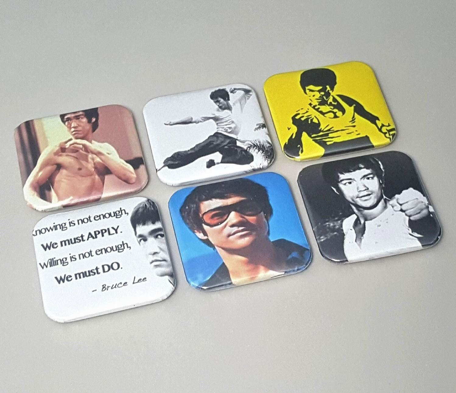 Bruce Lee Magnet Return Of The Martial shop Dragon Gifts Max 68% OFF Art Picture