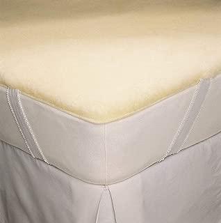 SnugFleece SnugSoft Elite Wool Mattress Topper Pad Cover QUEEN SIZE 60 X 80