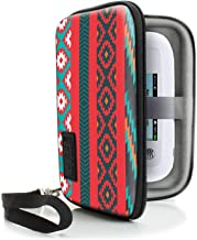 USA Gear Portable WiFi Hotspot for Travel Carrying Case with Wrist Strap - Compatible with 4G LTE Wi-Fi Mobile Hotspots from Verizon, Velocity, Skyroam Solis, GlocalMe, Netgear, and More - Southwest