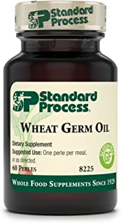 Standard Process - Wheat Germ Oil - Immune System and Inflammatory Response Support Supplement, Provides Antioxidant Activity, Gluten Free - 60 Perles