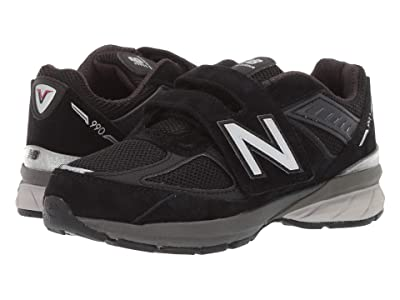 New Balance Kids 990v5 (Little Kid) (Black) Kids Shoes
