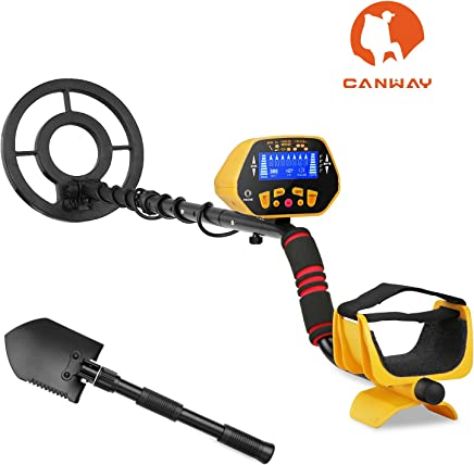 CANWAY Metal Detector with Pinpoint Function, Professional High Accuracy Gold Digger for Kids and Adults