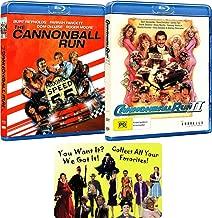The Cannonball Run 1-2 Blu-ray Burt Reynolds Movie Collection with Bonus Art Card