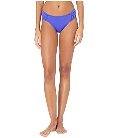 Seafolly Ruched Side Retro Bottoms (Reflex Blue) Women