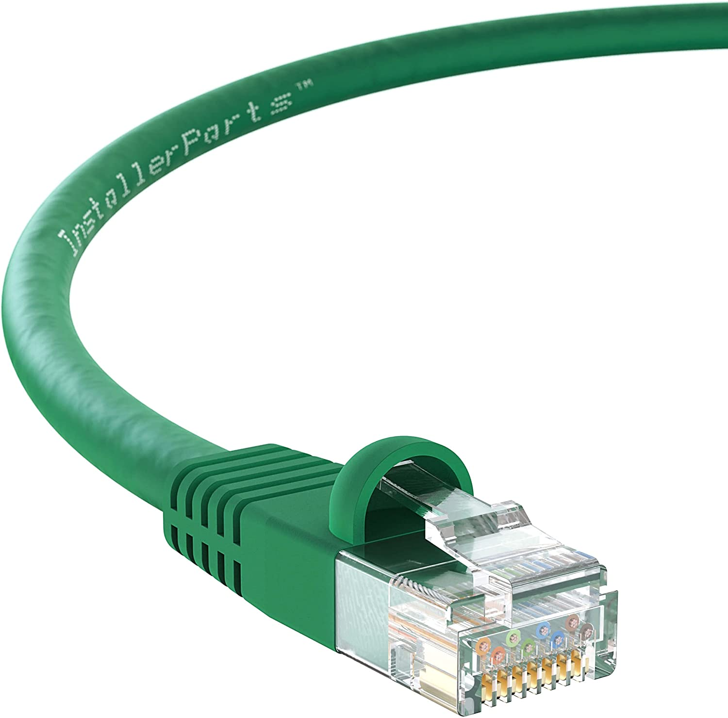 InstallerParts Ethernet Cable CAT6 Popular product UTP FT Gree Oklahoma City Mall - Booted 50