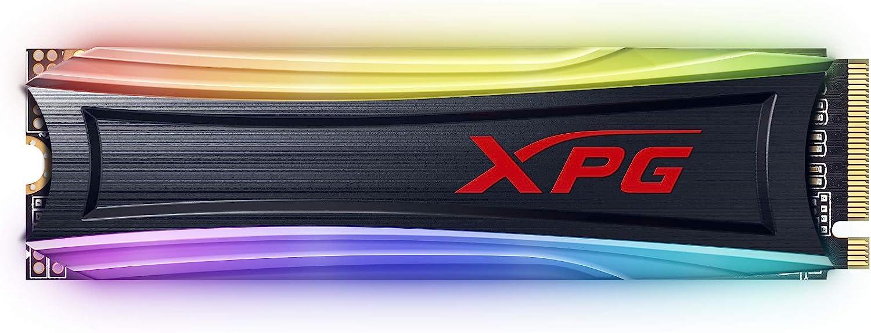 XPG S40G 1TB RGB 3D NAND PCIe Gen3x4 NVMe 1.3 M.2 2280 Internal SSD (AS40G-1TT-C)