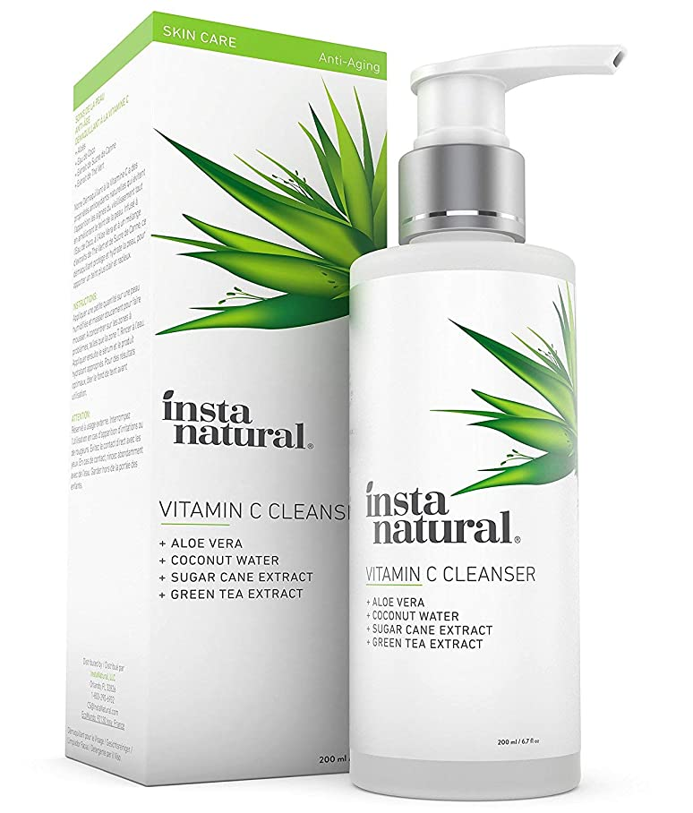 敬意簿記係真っ逆さまVitamin C Facial Cleanser 6.7 oz/200 ml