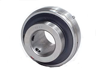 0.787 Single Lip Seal 47 mm Peer Bearing FH204-20MM Insert Bearing Non-Relubricable Spherical Outer Ring FH200-G Series OD 20 mm 21.41 mm Outer Ring Narrow Inner Ring 1.85 15 mm Inner Ring Eccentric Locking Collar 47 ID 20 mm Bore Metric