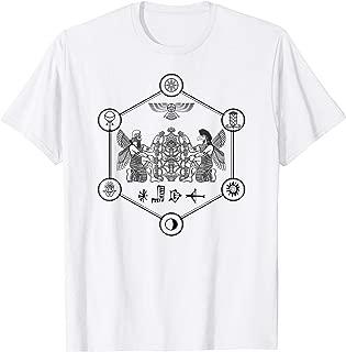 Enki And Enlil - Annunaki Sumerian Gods - T-Shirt