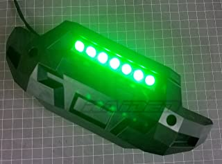 Raidenracing Front Bumper LED Lamp Lighting System ( Green ) for 1/5 Traxxas 6S 8S X-MAXX