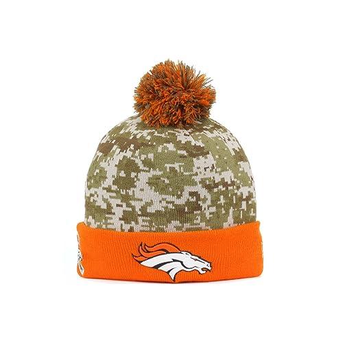 12991e30 Broncos Salute to Service Hat: Amazon.com