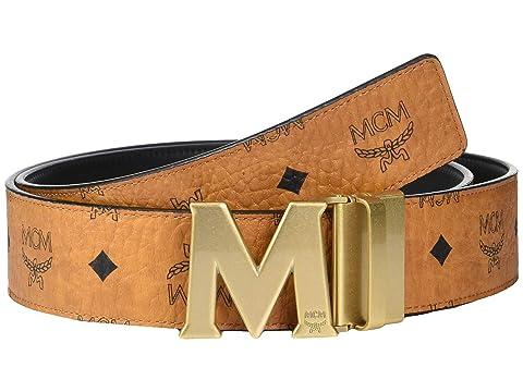 5b1e7543e55b MCM Claus Reversible Belt at Luxury.Zappos.com