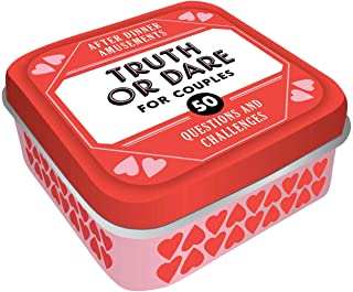 After Dinner Amusements: Truth or Dare for Couples: 50 Questions and Challenges (Sexy Date Night Card Game for Couples, Na...