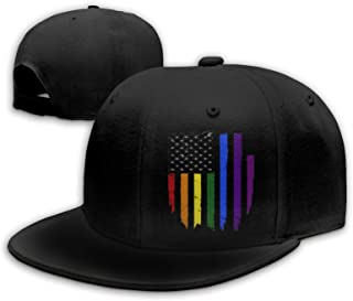 Les adultes Gay Pride Arc-en-Baseball Hat Cap festival fête défilé LGBT Accessoire