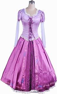 ラプンツェル コスプレ ドレス 衣装 大人用 コスチューム レディース サイズ:M