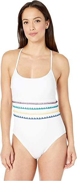 Summer Soltice Stitched One-Piece