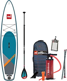 Red Paddle Co 2019 12'6 Sport Inflatable SUP with Carbon 50 Nylon 3 Part Paddle