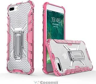Cocomii Honeycomb Armor iPhone 8 Plus/7 Plus Funda Nuevo [Robusto] Táctico Sujeción Soporte [Corte Entallado] Ligero Transparente Case Carcasa for Apple iPhone 8 Plus/7 Plus (H.Crystal Pink)