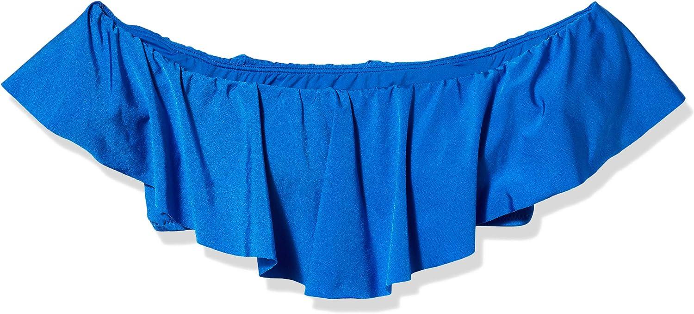Trina Turk Women's Getaway Solids Off-The-Shoulder Bandeau Bra Bikini Top