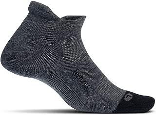Feetures - Merino+ Cushion - No Show Tab - Athletic Running Socks for Men and Women