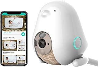 Cubo AI Baby Monitor: Sleep Safety with Covered Face & Danger Zone Alerts, HD 1080p Night Vision Camera, 2-Way Audio with ...