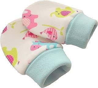 Nouveau-n/é Textiles Universels Moufles de protection anti-griffures 100/% coton lot de 2 paires