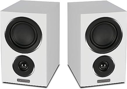 Mission LX-1 Bookshelf Speakers (White)