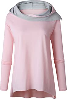 7TECH Hoodies Short Front and Rear Long, Pink