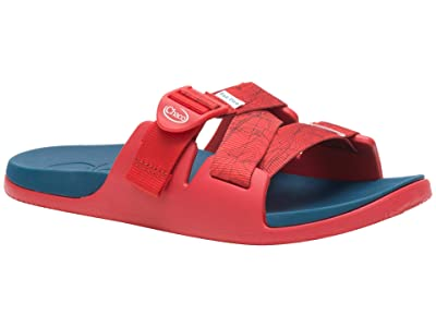 Chaco Chillos Slide (Contour Red) Women
