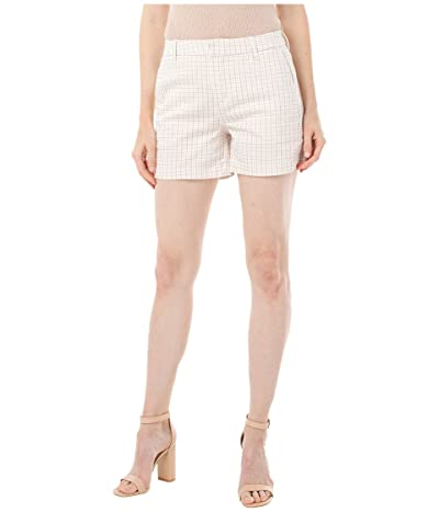 Liverpool Trousers Shorts with Welt (Dusty Coral/Check Plaid) Women