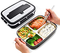 Best stainless steel microwave safe lunch box Reviews
