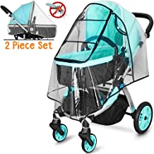 Universal Waterproof All-Round Protection Baby Infant Stroller rain Cover with Mosquito Net Travel Weather Shield