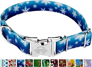 Country Brook Design - Premium Dog Collar - Christmas Collection with 15 Festive Designs