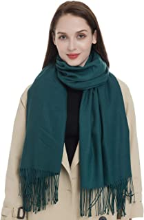 Soft Classic Luxurious Blanket Tartan Scarf Wrap for Women