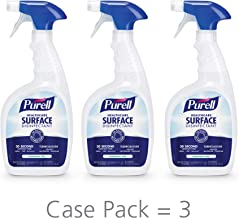 PURELL Healthcare Surface Disinfectant Spray, Fragrance Free, 32 fl oz Capped Bottle with Trigger Sprayer (Pack of 3) - 3340-03