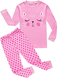 Baby Girl Carter's 4 Piece Pajama Set Pink White 24 Months $34 Long Sleeve Clothing, Shoes & Accessories Baby & Toddler Clothing