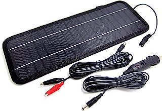 NUZAMAS Poartable 4.5W Solarpanel Ladegerät Power Auto 12V Batterie Outdoor Camping Reise Stromquelle