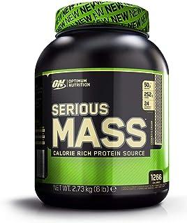 comprar comparacion Optimum Nutrition ON Serious Mass Proteína en Polvo Mass Gainer, con Vitaminas, Creatina y Glutamina, Galletas y Crema, 8 ...