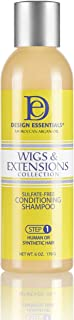 Design Essentials Moroccan Argan Oil Sulfate-Free Conditioning Shampoo- Wigs & Extensions Collection, 6 Ounces (Packaging ...