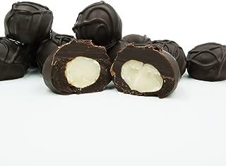 Philadelphia Candies Dark Chocolate Covered Macadamia Nuts, 1 Pound Gift Box