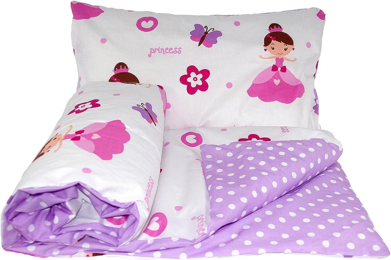 Pillowcase Babys Comfort Reversible 2pcs Baby Bedding Set Duvet//Quilt Cover 150x120cm for Junior beds, 19
