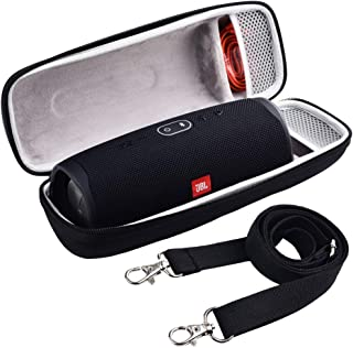 Case for JBL Charge 4 / JBL Pulse 4 Portable Waterproof Wireless Bluetooth Speaker [ Fits USB Plug and Cable & More ]