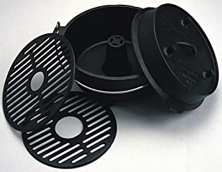camp chef cast iron turkey roaster