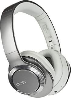 Cleer Flow II Bluetooth Wireless Headphones, Hybrid Noise-Cancelling, Google Assistant, Over-Ear, Auto-Pause - Gunmetal