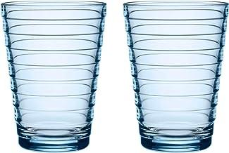 Iittala 1026180 Aino Aalto set med två behållare, glas