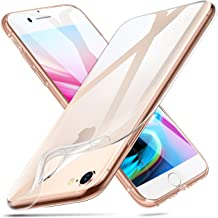 ESR Clear Case for iPhone 8 Case/iPhone 7 Case, Slim Soft Silicone TPU Thin Cover [ Supports Wireless Charging] for iPhone 8/ iPhone 7, Clear